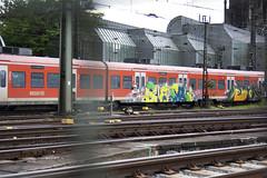 geier (wallsdontlie) Tags: train graffiti panel cologne geier