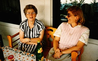 West Germany    -    HerbornSeelbach    -   Gisela & Me    -   19 August 1989