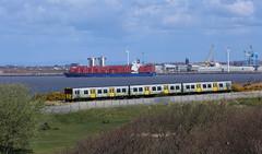 507016newbrigton230416 (1V44) Tags: wirral newbrighton 507 merseyrail 507016 merseyrailelectrics trainsandships frisiabonn 23april2016