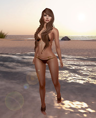 Get ready for Summer (BetaTested (Ealeen Debbel)) Tags: ocean summer beach fashion sand skin avatar doe sl bikini secondlife barefoot appearance whimsical reign tfc maitreya cynfull catwa thefantasycollective anlarposes