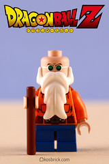 Master Roshi - Dragon Ball (kosbrick) Tags: ball dragon lego contest may competition master minifig challenge dragonball roshi minifigure moc 2016 maynifigure
