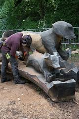 DSC_6761 (aglet) Tags: wood arboretum westonbirt scultpure 24120mmf4 nikond750