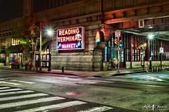 Reading Terminal Market at Night (Kofla Olivieri) Tags: readingterminalmarket archstreet 12thstreet night downtown centercity philadelphia philly pennsylvania topazadjust adobephotoshopelements lightroom nikond7000 dutch