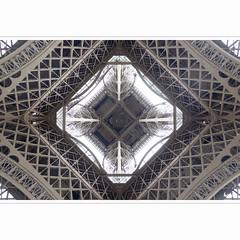 Mandala (horstmall) Tags: paris architecture construction geometry steel eiffeltower engineering struktur structure symmetry toureiffel architektur eiffelturm fer stahl geometrie konstruktion symmetrie ingenieurwesen guseisen horstmall