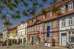 Lwen-Apotheke (dietmar-schwanitz) Tags: architecture germany deutschland pharmacy architektur altstadt oldtown apotheke mecklenburgvorpommern mritz waren hausdesgastes lwenapotheke