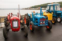 2 Massey Ferguson Tractors + a Fordson Dexta (Briantc) Tags: scotland bute isleofbute rothesay tractor tractors tractorrally masseyferguson masseyfergusontractor fordson dexta fordsondexta 752uyf