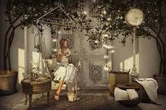 { As time goes on... } (Trinetty Skytower) Tags: sl secondlife avatar digital virtual pose photography home decor style fashion shinyshabby theseasonsstory hive bazar amiable entwined genesislab drd glamaffair