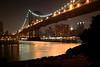 Manhattan Bridge (Fabio Tode ) Tags: ocean new york bridge sea usa newyork water reflex nikon ponte american manhattanbridge oceano d3100 fabiotode