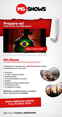MG Shows (Mailing Novembro/2011) (Douglas Ferraz) Tags: newsletter mailing emailmarketing codare mgshows