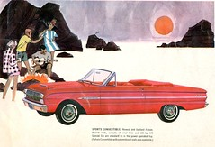 1963 Ford Falcon Futura Convertible (coconv) Tags: pictures auto old art classic cars ford car illustration vintage magazine ads painting advertising cards photo flyer automobile post image photos drawing antique album postcard ad picture convertible images 63 advertisement vehicles photographs card photograph postcards falcon vehicle kit autos collectible collectors press brochure automobiles futura dealer 1963 prestige