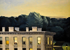 Edward Hopper - House at Dusk, 1935 at the Virginia Museum of Fine Arts (VMFA) Richmond VA (mbell1975) Tags: house art museum painting virginia us gallery museu dusk fine arts musée richmond musee m edward american va realist museo hopper muzeum realism 1935 müze vmfa richmand museumuseum
