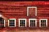 Red Barn (janusz l) Tags: janusz leszczynski red barn farm building wooden boards windows textures old hdr composition grain traditional workmanship craftsmanship pride chilliwack rosedale bc dec42011200031