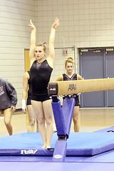Stephanie Repp [Beam] 12/4/11 (Erin Costa) Tags: santa holiday college spectacular university texas tx competition gymnastics ncaa meet twu womans intrasquad usag