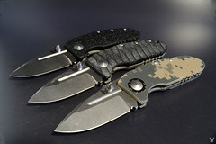 Benchmade 755 MPR customized (custom scale division) Tags: scale knife custom mpr benchmade shanesiebert