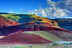 Things I Have No Words For (Ireena Eleonora Worthy) Tags: colour oregon spring paintedhills johndayfossilbeds mygearandme mygearandmepremium mygearandmebronze blinkagain northernstraitsphotography