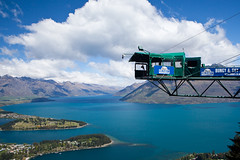 Bungy anyone? (Kalabird) Tags: newzealand mountains nature southisland queenstown bobspeak fiordlands lakewakitipu