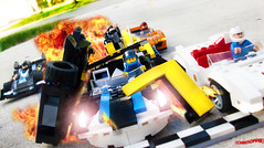 Day 343 (chrisofpie) Tags: chris pie monkey lego doug legos hero heroes minifig roger minifigure bluehat legohero chrisofpie rogeranddoug 365legos dougthechimp