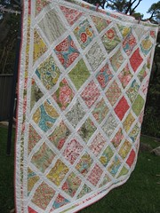 Secret Garden Quilt (little betty designs) Tags: secretgarden sandihenderson whitesashing