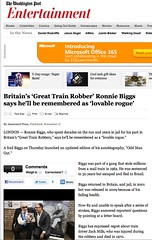Washington Post (Ronnie Biggs The Album) Tags: ronnie biggs greattrainrobbery oddmanout ronniebiggs ronaldbiggs