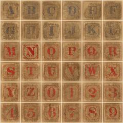 Vintage wooden blocks (Leo Reynolds) Tags: fdsflickrtoys photomosaic alphabet alphanumeric abcdefghijklmnopqrstuvwxyz 0sec abcdefghijklmnopqrstuvwxyz0123456789 hpexif groupfd groupphotomosaics mosaicalphanumeric xleol30x xphotomosaicx xxx2011xxx