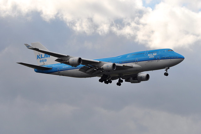 KLM Royal Dutch Airlines (KLM Asia) - Boeing 747-400M Combi - PH-BFH - City of Hong Kong - John F. Kennedy International Airport (JFK) - September 18, 2011 4 024 RT CRP
