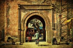 Entrada a la medina (osolev) Tags: africa city puerta gate ciudad morocco maroc medina porte marruecos essaouira textured mogador ltytr1 esauira osolev