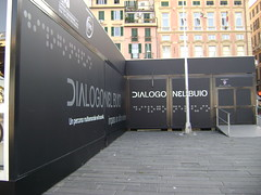 Dialogo nel Buio - Dialogue in the Dark (Dialogue-in-the-Dark) Tags: italy building exhibition international did venue dialogue dialogueinthedark dialogonelbuio didinternational