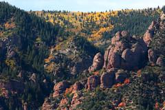 Rocks (arbyreed) Tags: trees red color fall yellow rocks fallcolors canyon redrocks pinetrees rockformation aspentrees arbyreed
