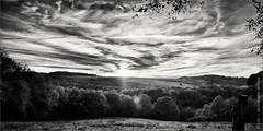 Sunset - Black and White (photography.andreas) Tags: sunset blackandwhite schwarzweiss niksoftwareinc silverefexpro2 sonnenaufundsonnenuntergang