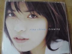 原裝絕版 1998年 6月10日 知念里奈 Rina Chinen Growing CD 原價  3059YEN 中古品