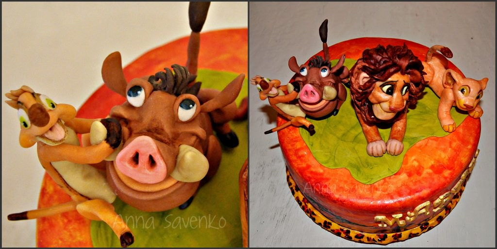 Pumba Cake: The World's Best Photos Of Cake And Timon