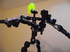 PowerKlaw (Skeleton) (Beardly Designs) Tags: factory lego claw hero villain bionicle xl mocs moc rocka stormer tfol powerklaw