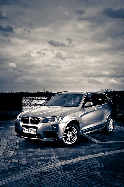 portrait car nikon outdoor bmw strobe x3 2011 msport strobist d3s dylu