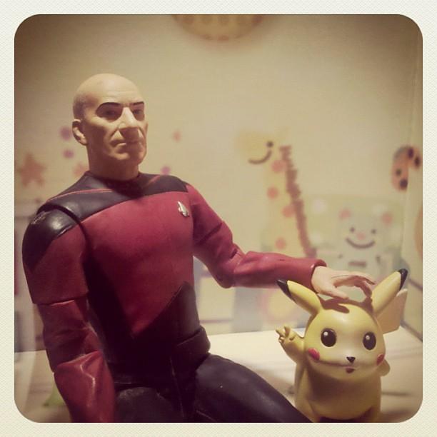 Capt. Jean-Luc PICARD had a Pikachu, ya know...