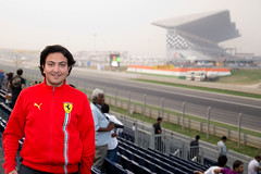 Ferrari fanboi (NA.dir) Tags: india indian moi ferrari international circuit formula1 gp bic nadir buddh fanboi