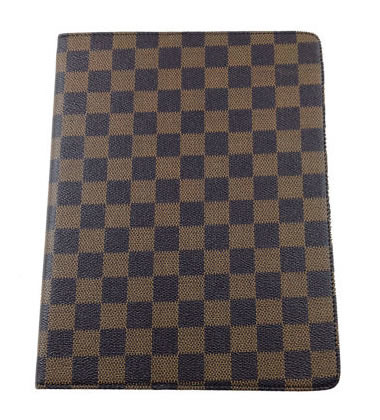 Classic Cube Style Folio Case for iPad 2 - Brown