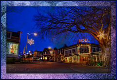 IMG_3443 Dawn, Friday Harbor, Noel (Glenn Gilbert) Tags: santa christmas city morning decorations texture canon island dawn lights harbor town washington pub san juan pacific northwest mosaic noel frame sound sanjuanislands friday puget 50d mygearandme mygearandmepremium