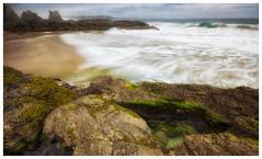 Kiama Downs, Cathedral rocks 1 (Dan George) Tags: ocean sea storm rocks seascapes australia nsw swell cathedralrocks canon60d kiamadowns
