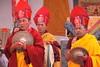 monks (rongpuk) Tags: people india mountains festival monastery monks tibetan himalaya tak ladakh gompa dances thok