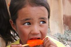 tak thok child (rongpuk) Tags: people india mountains monastery himalaya childs tak ladakh gompa thok