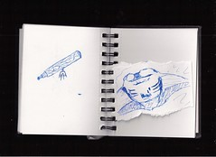 my book 015 (Bradley H) Tags: pen book sketch mine mantaray mybook illustrationink