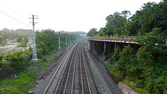Hudson River Tracks in Sleepy Hollow, NY (Peter Radunzel) Tags: railroad usa newyork railroadtracks sleepyhollow metronorthrailroad hudsonline