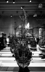 Pentax ME + Fuji Ahoy matey 1600 (Giu Behringer) Tags: old blackandwhite bw film museum analog 50mm boat photo mas ship dof bokeh exhibition depthoffield pentaxme f17 smc5017 museumaandestroom