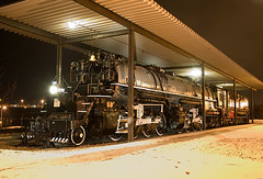 229 at Night (Missabe Road) Tags: steam yellowstone mallet twoharbors 229 dmir 2884