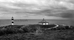 Faro Isla Pancha (maruxa fotografa) Tags: blancoynegro faro mar cano galicia lugo ribadeo maruxa islapancha marialucense