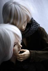 New Year`s kiss I (Dedra Starling) Tags: new red girl mod kiss doll dolls body year super yuri bjd soom gem payne llt lati roderich veloria migidoll