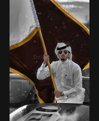Qatar National Day 2011 (3    d ) Tags: bw nikon december day national doha qatar hnd  2011     18dec   3houd  ohoud