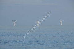 Thames Estuary Wind Farm (Don Knight) Tags: picnik windfarm renwableenergy thamesestuarywindfarm