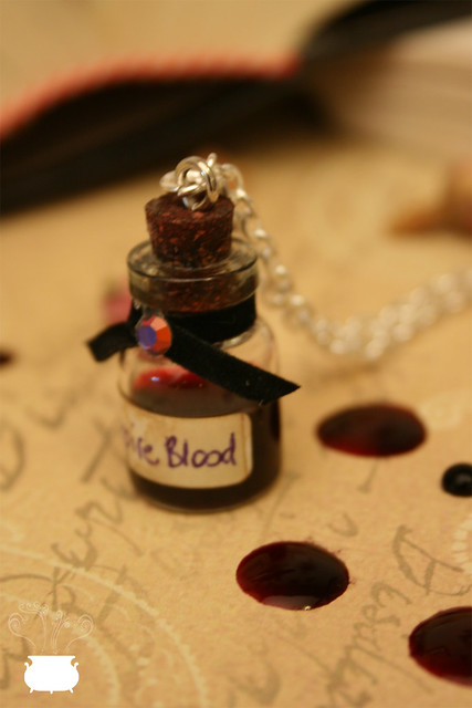 Blood Vampire Necklace.