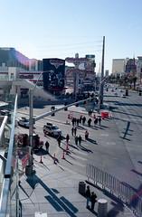 The Strip // las Vegas (we make it chromatic) Tags: leica city vegas arizona urban usa film analog 35mm vintage desert lasvegas kodak nevada canyon strip deathvalley portra 2012 leicam6 pellicule portra160 francoisollivier stereokini stereokinitumblrcom